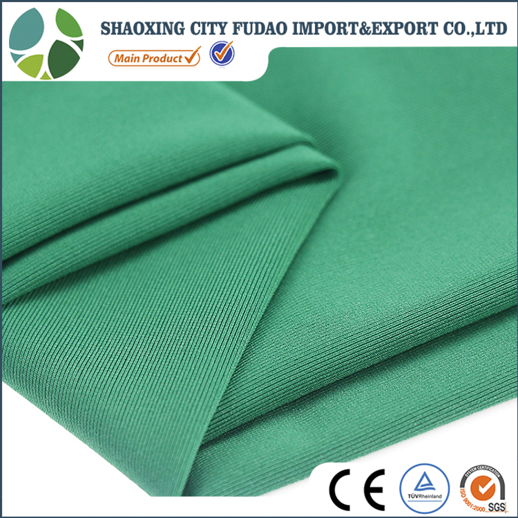 92% polyester 8% spandex knitting polyester spandex fabric for shirt