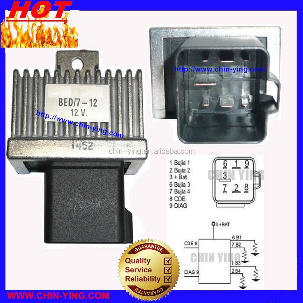vivaro glow plug relay test