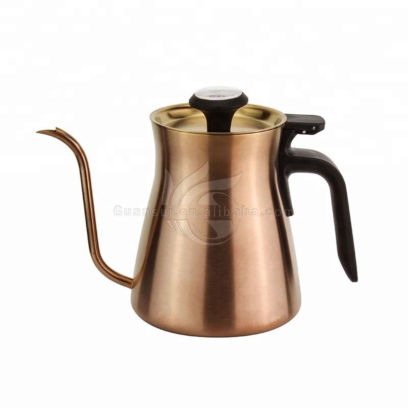 thé goutte à goutte Pot Bouilloire 350 ml eau Inoxydable versez Bouilloire pour café