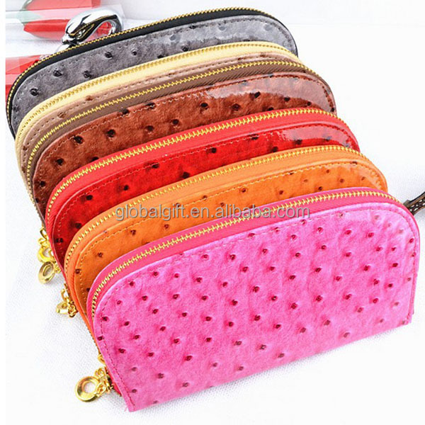 Ostrich Leather Women Wallets
