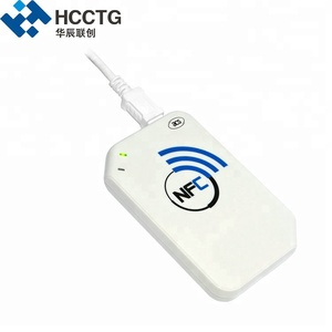 13.56 Mhz Wireless Android Usb Bluetooth Nfc Smart Card Reader--ACR1255