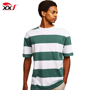 wholesale clothing miami blank stripe tall promotional t-shirts