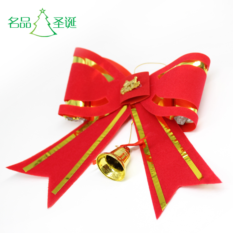 Christmas Decoration Christmas Accessories Red Big Bow Tie