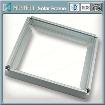 Anodized Window Aluminium Frame With Glass Panel - Buy Aluminium ...