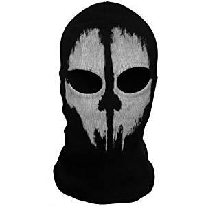 Yiding Call of Duty 10 COD Ghost Balaclava Logan Skull Face Mask Hood Biker #9 Toy, Kids, Play, Children