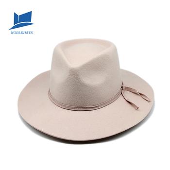 Custom Man Winter Luxury Fedora Wool Outdoor Hat - Buy Custom ... 9042a40707d
