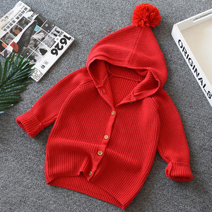 children's girl cute lovely cotton hoodie sweater