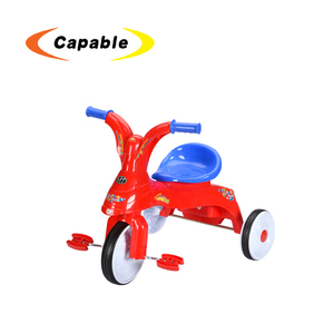 Best Toy Cars Red Plastic Kids Tricycle Three Wheel Bikes For Sale
