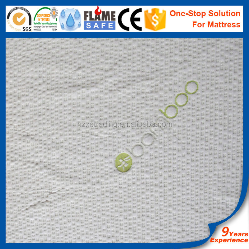 Bamboo mattress fabric