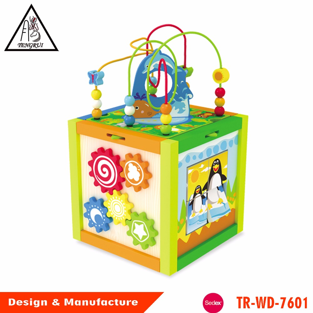 Wooden Activity Cube, Wooden Activity Cube Suppliers And Manufacturers At  Alibaba.com