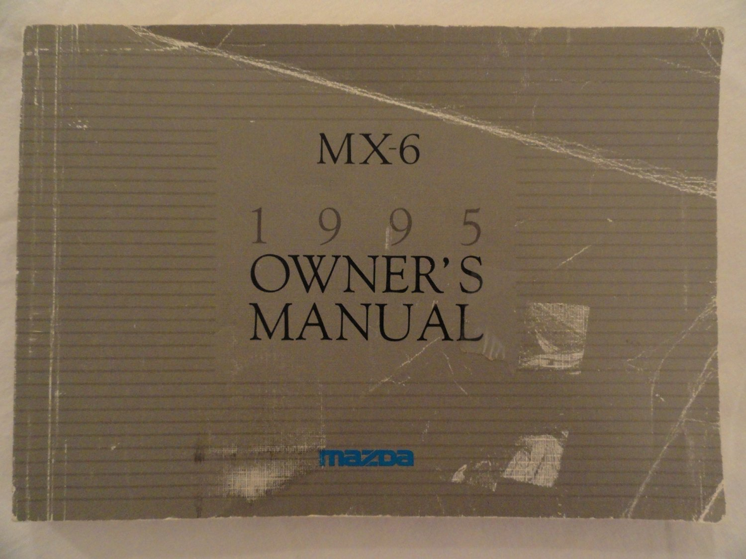 Get Quotations · 1995 Mazda MX-6 MX6 Owners Manual