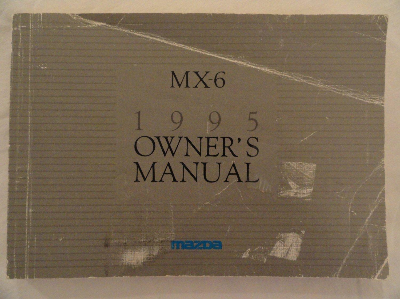 1995 Mazda MX-6 MX6 Owners Manual