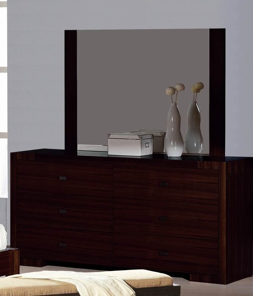 Get Quotations · Alpha Bedroom Dresser U0026 Mirror Set