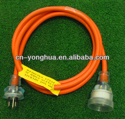 SAA Approved Ordinary heavy duty extension leads