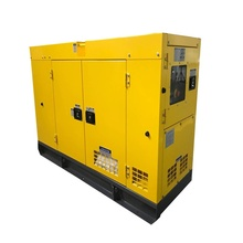 Cheap water cooling 20kva three phase diesel generator powered by perkins