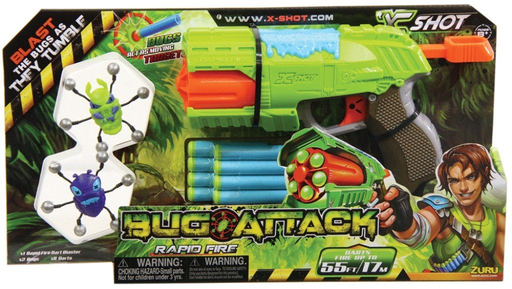 Bug Attack Toy Blaster