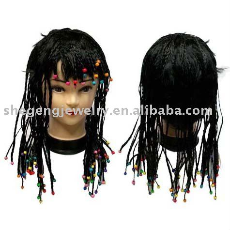 Rick James Super Freak Braided Wig with Beads