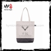 Hot selling candy gift canvas tote bag with low price