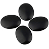 Amazon Health and Fitness massage stone, Large Black Basalt Hot lava Stone Set for Spas Massage Therapy Relaxation