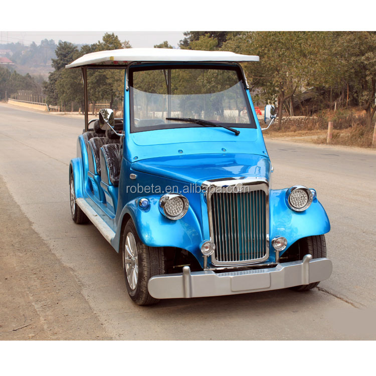 Electric Sightseeing Bus/ mini moke china with CE certificate