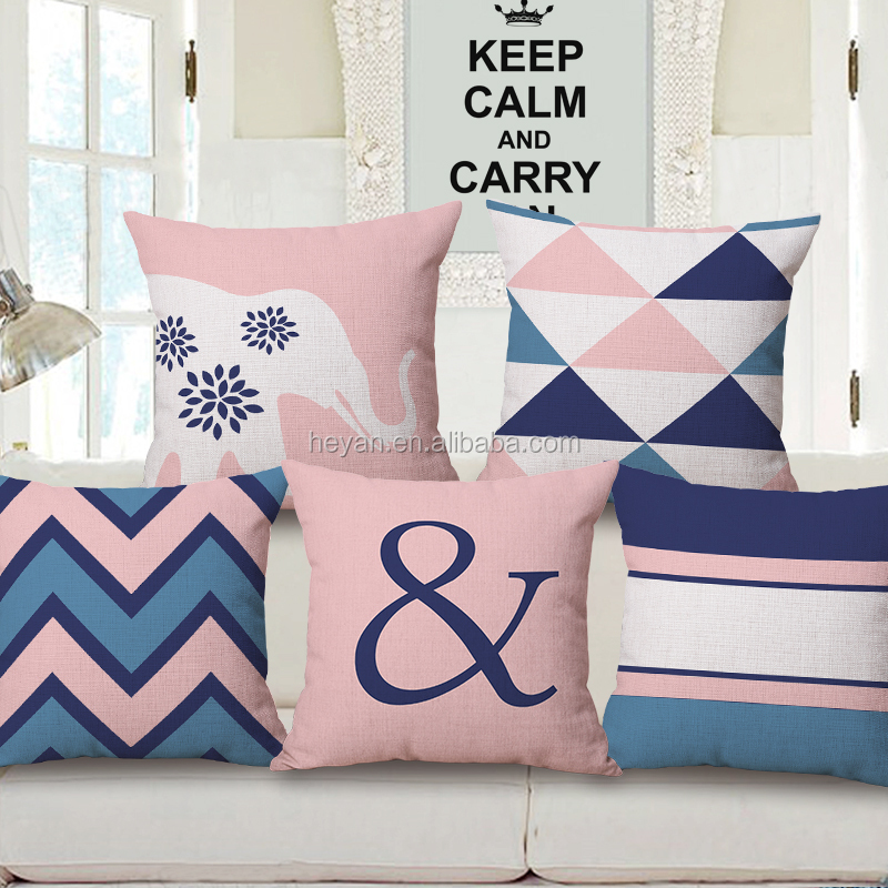 Amazing Wholesale Decorative Geometry Fabric Cotton Linen Throw Pillow Sofa Cushion Cover For Office Chair Buy Cushion Cover For Office Chair Cushion Cover Ncnpc Chair Design For Home Ncnpcorg