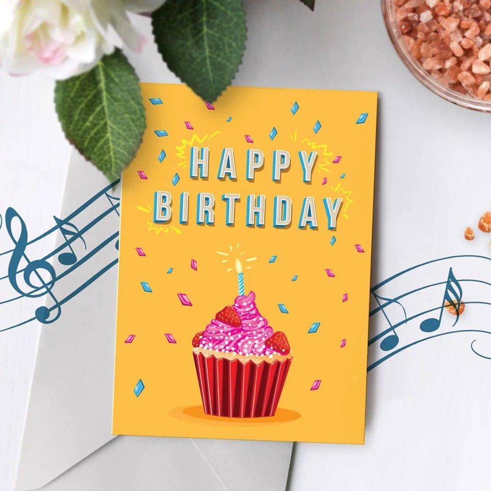 Talking Birthday Cards Custom Music Happy Card Song Singing
