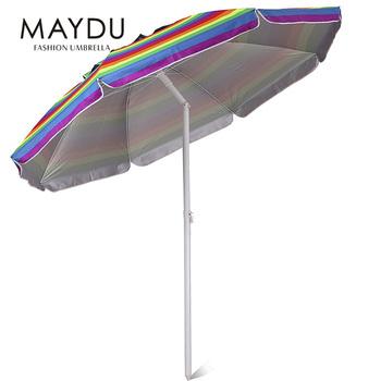 0d9e7c9c6b4a Luxury Parasol Outdoor Rainbow Beach Umbrella - Buy Beach ...