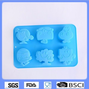 Silicone full body reborn doll mold minecraft silicone ice mold goat cake mold