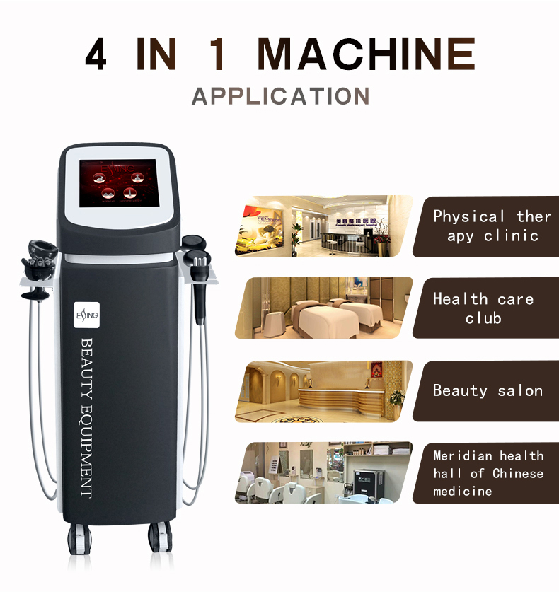 YS-33 ESSING Health care back pain relief   electric vacuum massage therapy machine meridian health