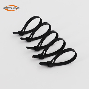 Low Price Multipurpose Selflocking Nylon Hose Clamp Style Cable Tie