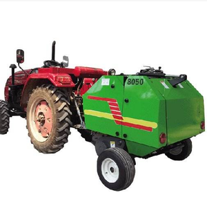2018 Hot sale ! Farm tractor mini Hay and Straw round baler for sale with best price