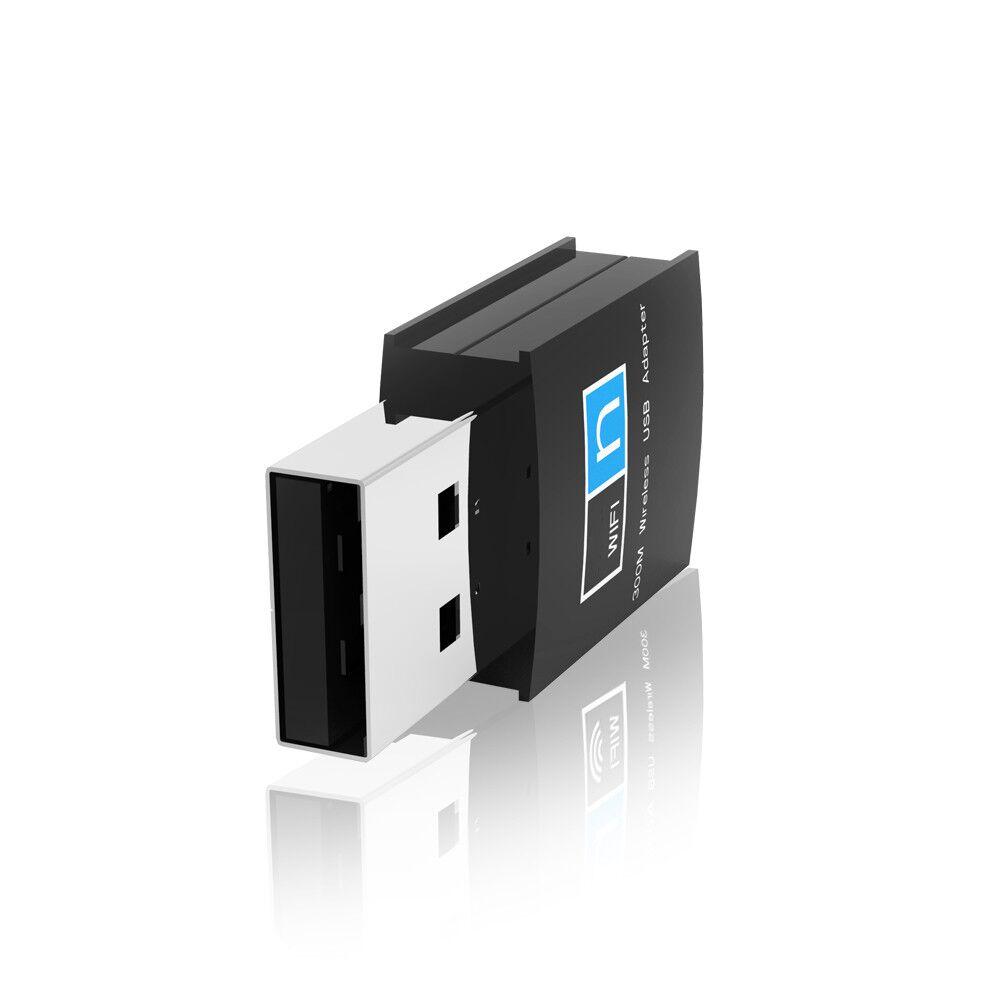 LAN adaptador de antena de 300 M USB 2,0 WiFI tarjeta de red inalámbrica de RTL8192 Core 802,11 b/g/n con ordenador portátil antena