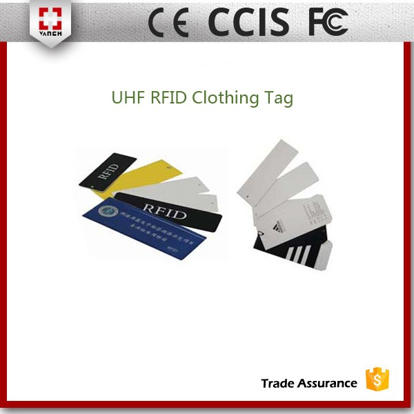 EPC C1G2 840-960MHz UHF RFID Clothing Label with MONZA chip