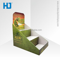 Recyclable Counter Display Box For Vitamin,Custom Retail Store Countertop Display