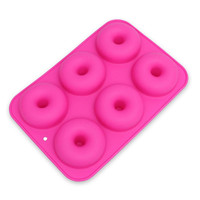 2018 New Silicone Donut Cake Mould Silicone Chocolate Mold
