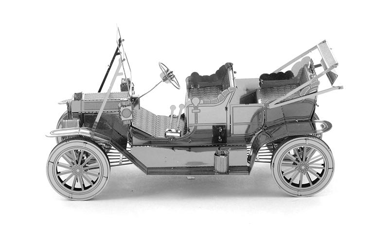 Home Decoration Classic Retro Car Metal Model DIY 1931 Ford Model T Roadster 3D Puzzles Toys