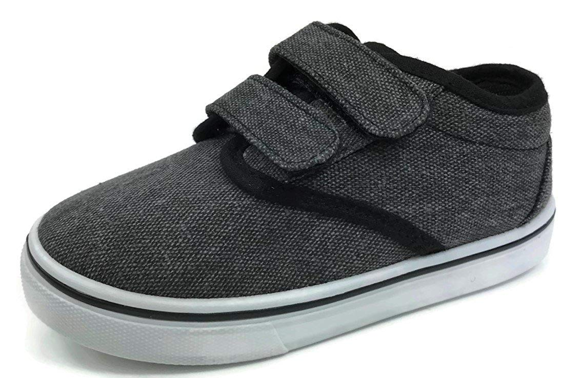 Boys Toddler Classic Canvas Boat Shoe Slip On - No Tie -Sneakers