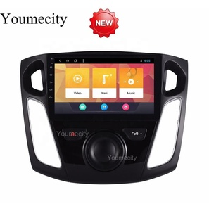 Youmecity Android 8.1 Car DVD For Ford Focus 3 2012 2013 2014 2015 GPS Radio Video Multimedia Player Capacitive IPS Screen RDS