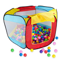 Play House Indoor and Outdoor Easy Folding Ball Pit Hideaway Tent Play Hut PNLO
