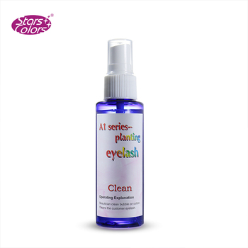 C-017 70 ml make up private label eye lash cleanser