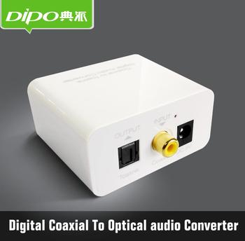 coaxial to optical toslink digital audio converter