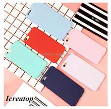 Custom Design Colorful TPU case for iphone 7 case,Ultra Thin soft cellphone case for iphone 7/7plus candy color