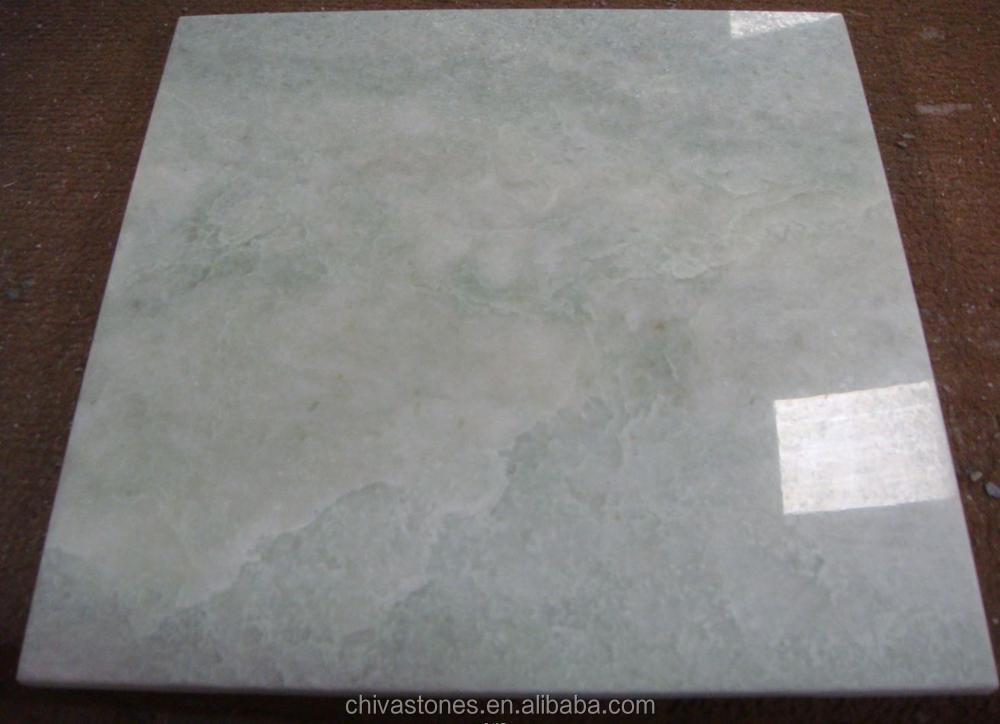 Lastre di marmo verde giada verde piastrelle per la decorazione