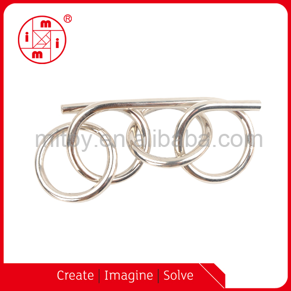 Metal Ring Puzzle Solution,Solution Metal Puzzle,Metal Wire Puzzle Double  Loop Solutions - Buy Metal Wire Puzzle Double Loop Solutions,Solution Metal