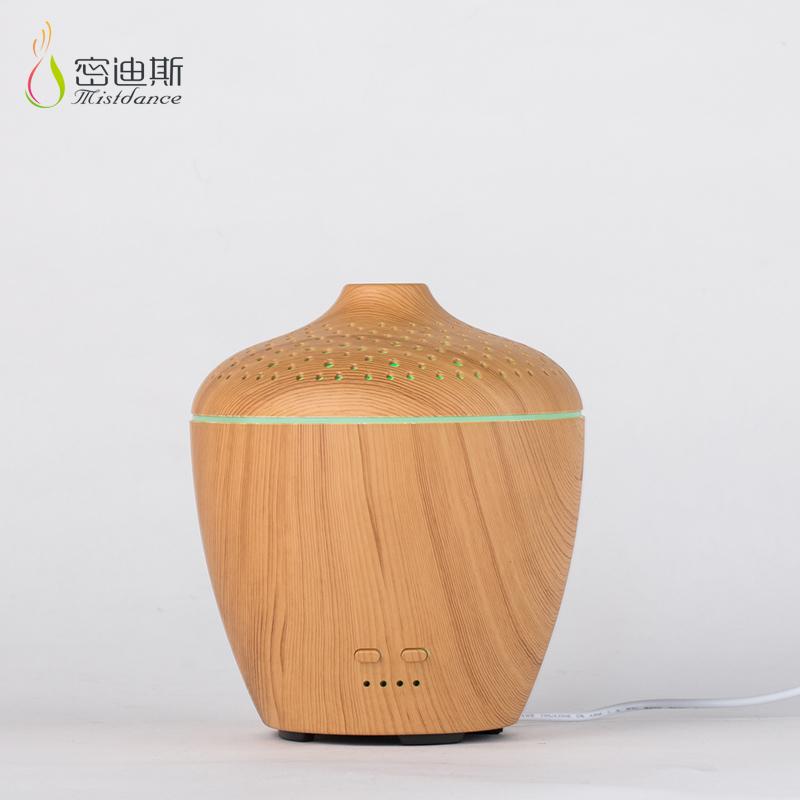 SIXU sem água clássico de alta qualidade aromaterapia waterless puro difusor de óleo essencial de madeira nebulizador de vidro
