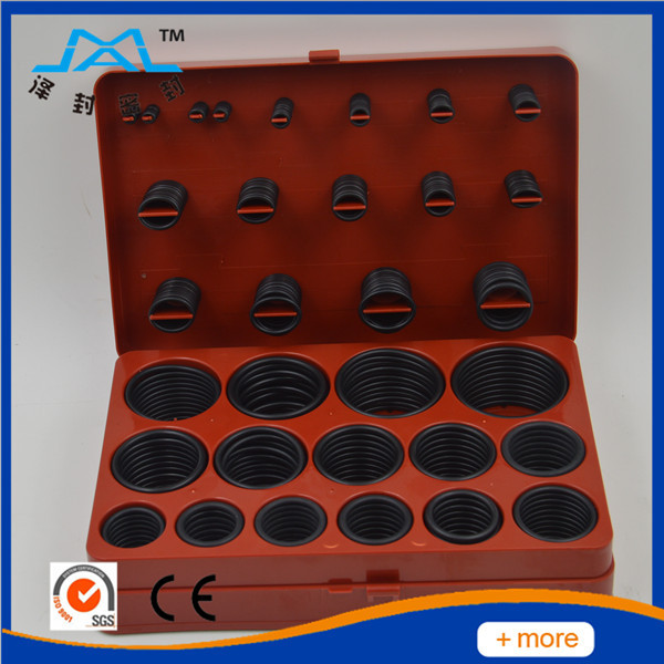 Universal 30 sizes 382 pieces Black Rubber O Ring kit satisfy your needs