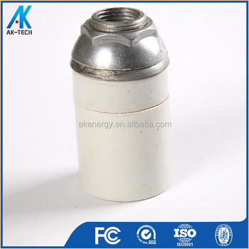 E40 Screw Electric Light Bulb Holder Ceiling Ceramic Lamp Type