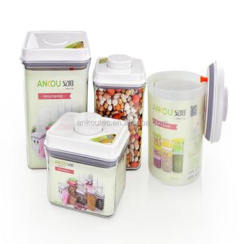 Manufacturer Supply Kitchen Set Food Grade Bpa Free Rectangle