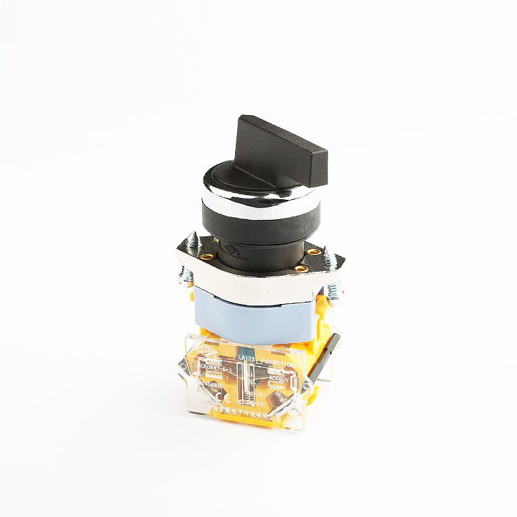 22mm long lever rotary 3 position rotary switch / rotary switch 12 position