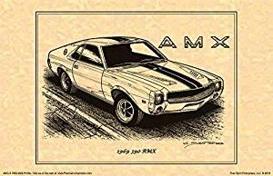 1969 American Motors AMX Art Print